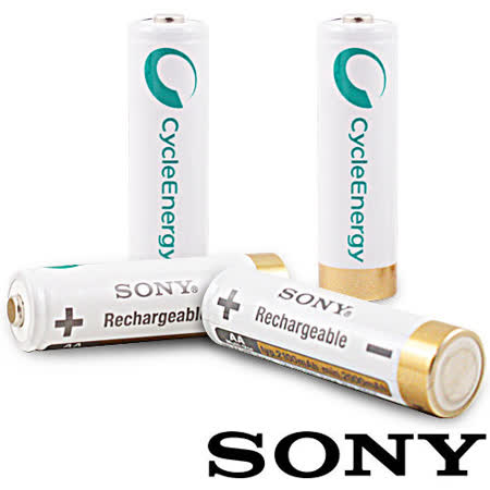 SONY 低自放3號 2100mAh 鎳氫低自放充電電池 (兩入組)【贈電池收納包&收納盒】