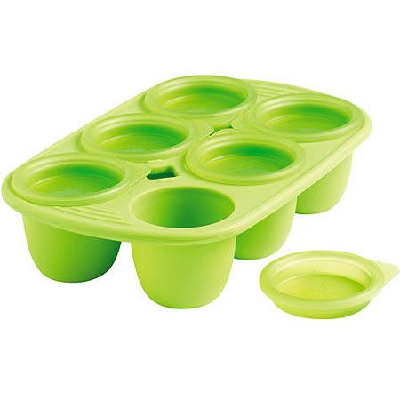 《MASTRAD》6格副食品儲存杯(小綠)