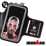 《Yurbuds》Armband 運動專用iPhone5手機臂帶(黑)( AYUR-010)