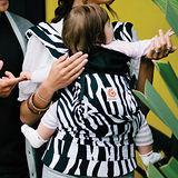 美國Ergobaby爾哥寶寶原創款嬰童背帶-斑馬紋