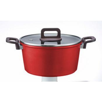西華37CM超硬陽極炒鍋(單柄)贈neoflam時尚陶瓷湯鍋20cm