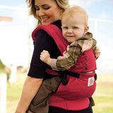 美國Ergobaby爾哥寶寶運動款嬰童背帶-魔力紅