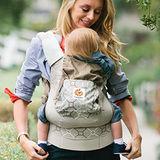 美國Ergobaby爾哥寶寶 有機棉嬰童背帶- 香檳格紋