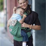美國Ergobaby爾哥寶寶有機棉嬰童背帶-原野綠