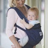 美國Ergobaby爾哥寶寶有機棉嬰童背帶-沉穩藍