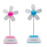 USB電池兩用花朵風扇 WH-FU01