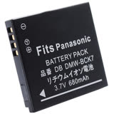 Kamera【佳美能】Panasonic DMW-BCK7 相機電池