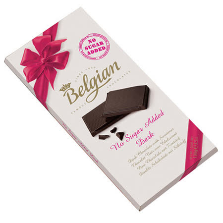 Belgian‧白儷人無糖黑巧克力(100g)