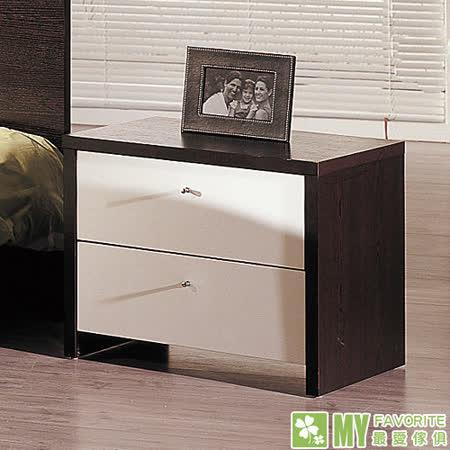 最愛傢俱 丹麥風情 床頭櫃 (鐵刀木色)
