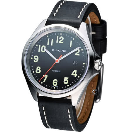Glycine COMBAT 7 自動上鍊機械腕錶 3898.19AT6