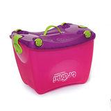 英國Trunki可乘坐玩具收納箱--桃紅