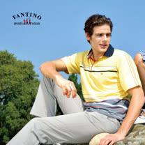 【FANTINO】男款 舒適運動棉衫(黃)331142