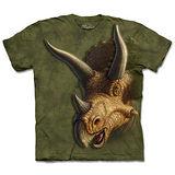 『摩達客』(預購)美國進口【The Mountain】自然純棉系列 三角龍像 設計T恤