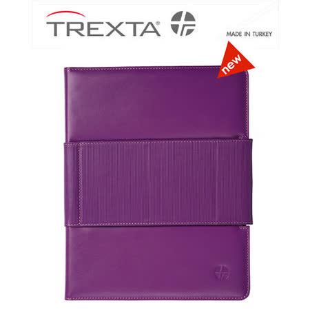 Trexta Rotating Folio New iPad 旋轉真皮皮套- 梅紅 新版適用「The New iPad」