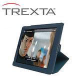 Trexta Slim Folio New iPad 超輕薄真皮皮套- 藍色