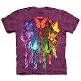 『摩達客』(預購)美國進口【The Mountain】自然純棉系列 彩蝶捕夢網 設計T恤