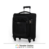 《Traveler Station》SUNCO FinoxyEX輕量防盜軟箱-43CM(約19.5吋)