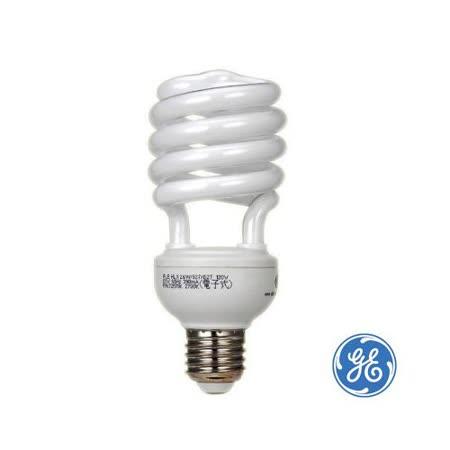 GE 螺旋燈泡 T3-24W《二十入》