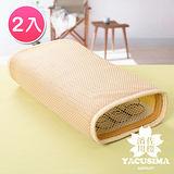 【濱川佐櫻-沁涼雅藝】台灣製3D通風透氣枕-2入