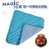 第三代。立體透氣網神奇冰涼墊(藍色)