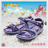 【G.P】阿亮代言 ~廣告商品花系列機能涼鞋G7238W-41(紫色)共三色