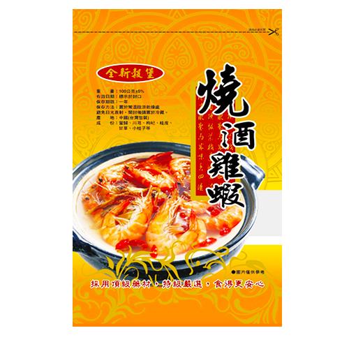 穀堡~燒酒雞蝦100g