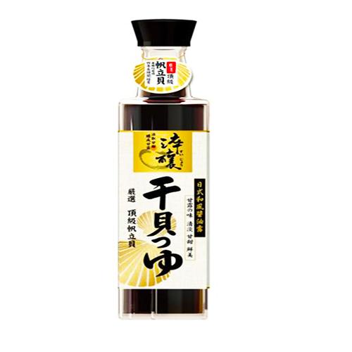 味全日式和風醬油露~干貝風味300ml