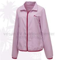 【FIT】女新款 透氣吸排抗UV 防曬外套.透氣外套.薄夾克/排汗.吸濕.輕量.快乾.休閒時尚款/ ES2301  薰衣紫