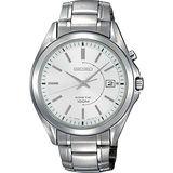 SEIKO Kinetic 極地爭霸腕錶-銀 5M62-0CW0S