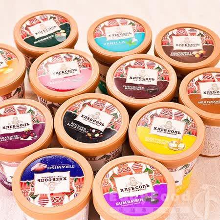 【卡比索】俄羅斯冰淇淋 任選5盒 (475ml)