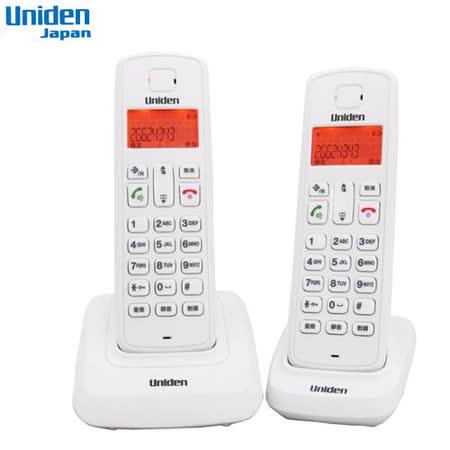 Uniden 2.4G 數位無線電話機 U3301-2(白)