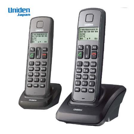 Uniden 2.4G 數位雙手機無線電話機 U3301-2(黑)