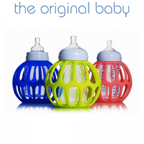 The Original Baby 奶瓶握套 (藍色)