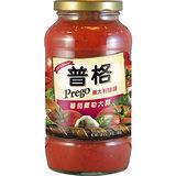PREGO 義大利麵醬蕃茄羅勒大蒜680g