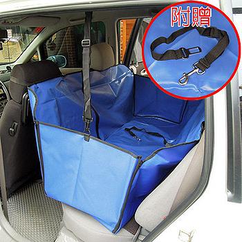 【車用寵物墊】防水防污墊/車墊 (後座大)WN-3D013