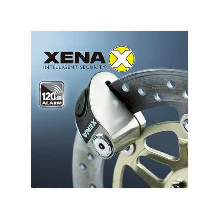 英國 XENA XZZ5LSS 不鏽鋼警報碟剎機車鎖