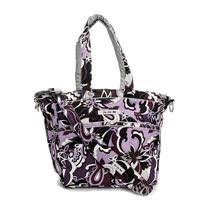 【美國Ju-Ju-Be媽咪包】BeSpicy 托特包/手提肩背媽媽包-Purple Paisley紫色圖騰
