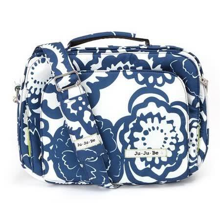 【美國JuJuBe媽咪包】Micra Be萬用筆電包-Cobalt Blossoms/適用11吋以下小筆電、平板電腦
