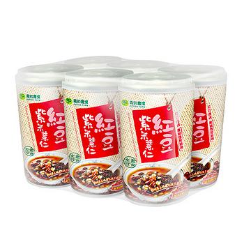 青的農場紅豆紫米薏仁330g*6