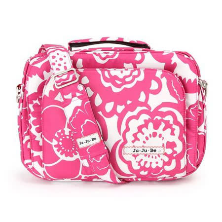 【美國Ju Ju Be】Micra Be萬用筆電包-Fuchsia Blossoms魅彩繽紛/適用11吋以下小筆電、平板電腦