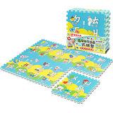 【LOG樂格】環保巧拼地墊–幼兒學習ㄅㄆㄇ ( 6片/組) ~超厚2cm,無毒環保EPE材質