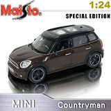 MINI Countryman 《1/24 》合金模型車 ~咖啡色