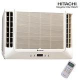HITACHI日立雙吹式10-12坪適用【R410定頻冷專】窗型冷氣RA-68WK