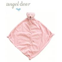 美國 Angel Dear 動物嬰兒安撫巾 (粉紅熊熊)