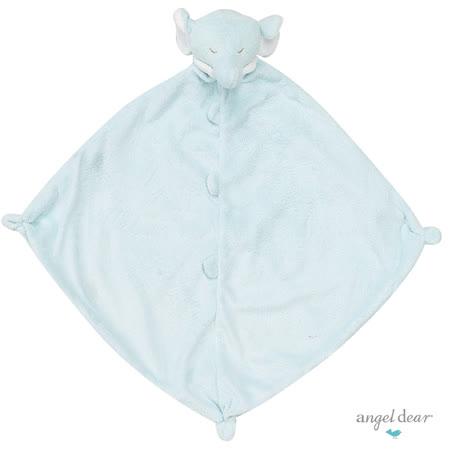 美國 Angel Dear 動物嬰兒安撫巾 (藍色小象)