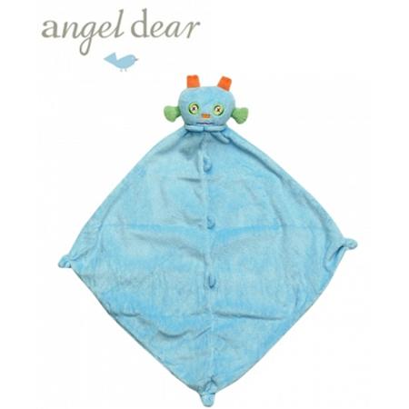 美國 Angel Dear 小怪獸嬰兒安撫巾 (藍色機器人)