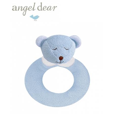 Angel Dear 動物家族手搖鈴環 (藍色小熊)
