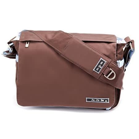 【美國Ju Ju Be媽咪包】BeAll 肩背包-Brown Robin薄荷巧克力-外出專用媽媽包