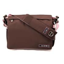 【美國JuJuBe媽咪包】BeAll 肩背包-Brown Bubblegum草莓可可-外出專用媽媽包