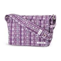 【美國Ju Ju Be媽咪包】BeAll 肩背包-Jujuberry Squares藍莓方城-外出專用媽媽包
